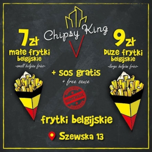 Chipsy King Belgian French Fries