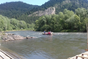 Classic or Active Rafting on Dunajec River