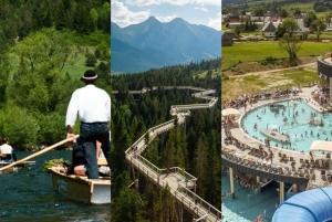 Dunajec Rafting, Treetop Walk & Thermal Baths Tour