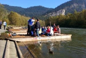Dunajec River Full-Day River Rafting Tour from Krakow