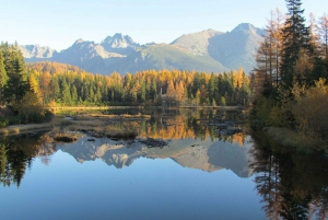 From Day Trip to Štrbské Pleso Lake with Pickup