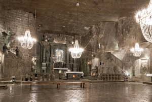 From Krakow: Half-Day Salt Mine Tour and Schindler's Factory