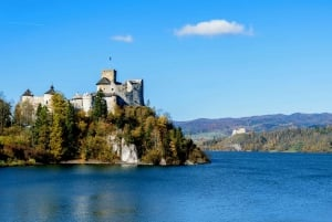 From Krakow: Private Tour of Pieniny with Rafting and Castle