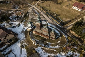 From Kraków: UNESCO Wooden Churches Guided Tour