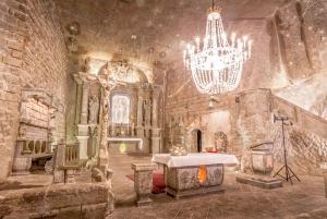 From Krakow: Wieliczka Salt Mine Tour with Hotel Pick Up