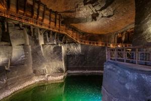 From Krakow: Wieliczka Salt Mine Tour with Private Transport