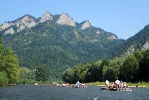 From Krakow: Zakopane and Dunajec River Rafting Tour
