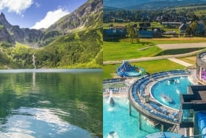 From Morskie Oko Lake Tour and Thermal Baths Visit