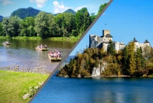 From Private Tour of Pieniny with Rafting and Castle