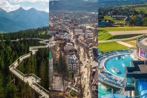 From Slovakia Treetop Walk, Zakopane & Thermal Baths