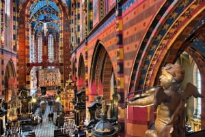 From Warsaw: Krakow & Wieliczka Small Group Tour with Lunch
