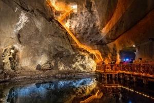 From Wieliczka Salt Mine Group Tour with Transfer