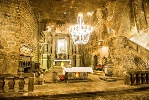 From Wieliczka Salt Mine Tour with Guide