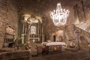From Wieliczka Salt Mine Tour with Private Transport