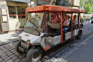 Jewish Quarter and Schindler Factory by Golf Car