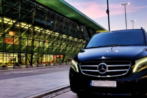 Katowice Airport: Private Transfer from/to Krakow