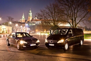 Katowice: One-Way Airport Transfer