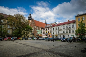 Krakow: 2-Hour Guided Jewish Heritage Segway Tour