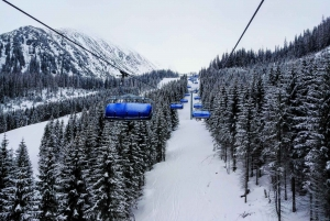Krakow: 3-Hour Advanced Skiing Experience