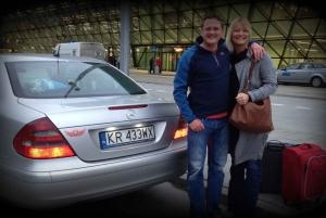 Krakow Airport Private Roundtrip Transfer