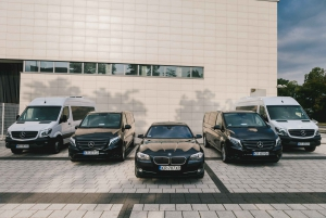 Krakow Balice Airport: Private One-Way or Roundtrip Transfer