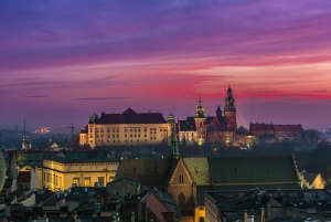 Krakow by Night: 1.5-Hour Tour by Electric Car