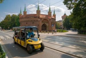 Krakow: E-Car City Tour