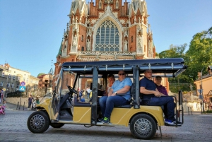 Krakow: Guided Sightseeing Tour in an Electric Car