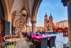 Krakow: Tour by Electric Car & Optional Schindler's Factory