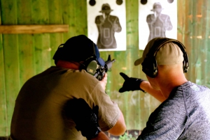 Shooting Range Experience with Private Transfer