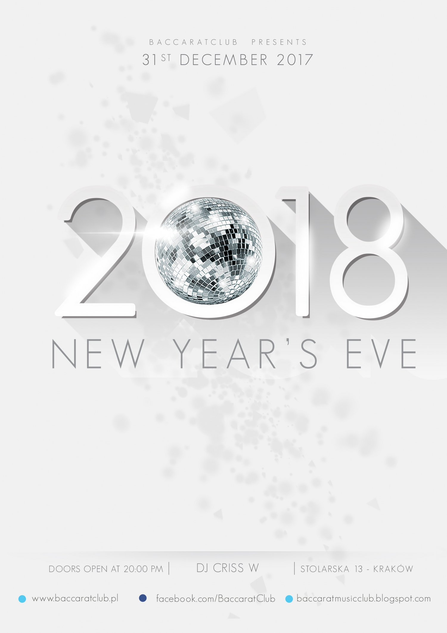 BACCARAT NEW YEAR'S PARTY 2017/2018