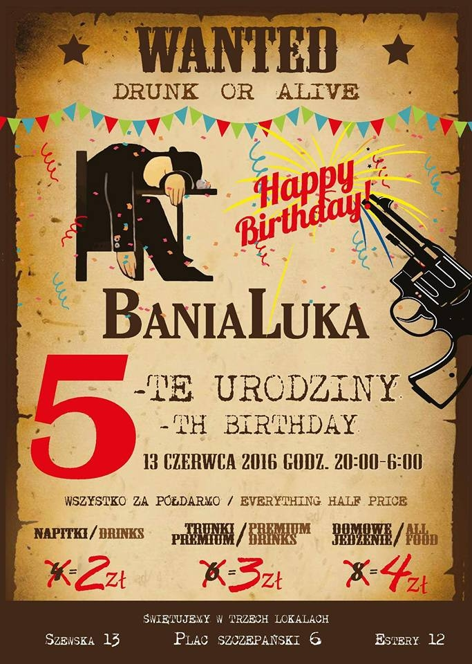 Banialuka 5th Birthday!