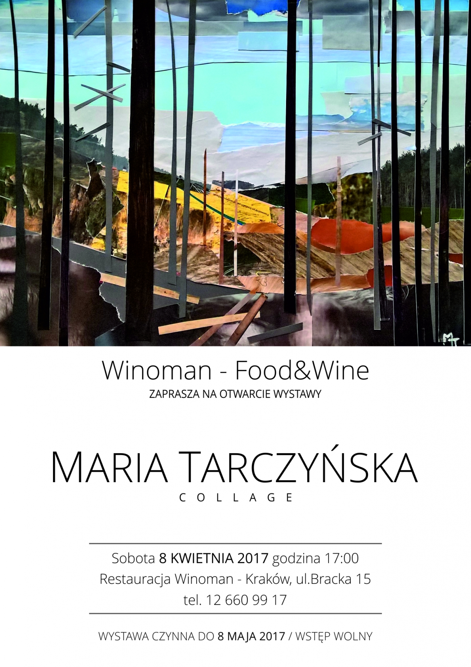 'Collage' - opening of the exhibition of Maria Tarczyńska works