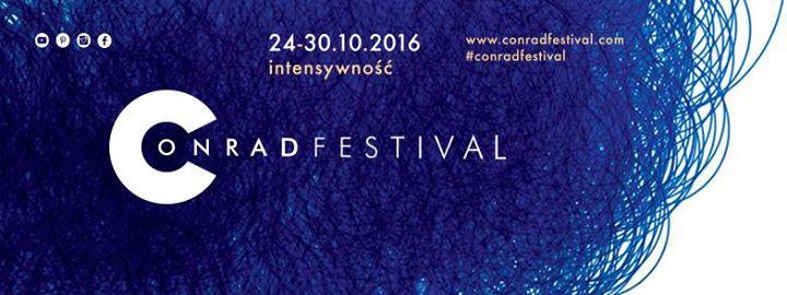Conrad Festival 2016 | Intensywność