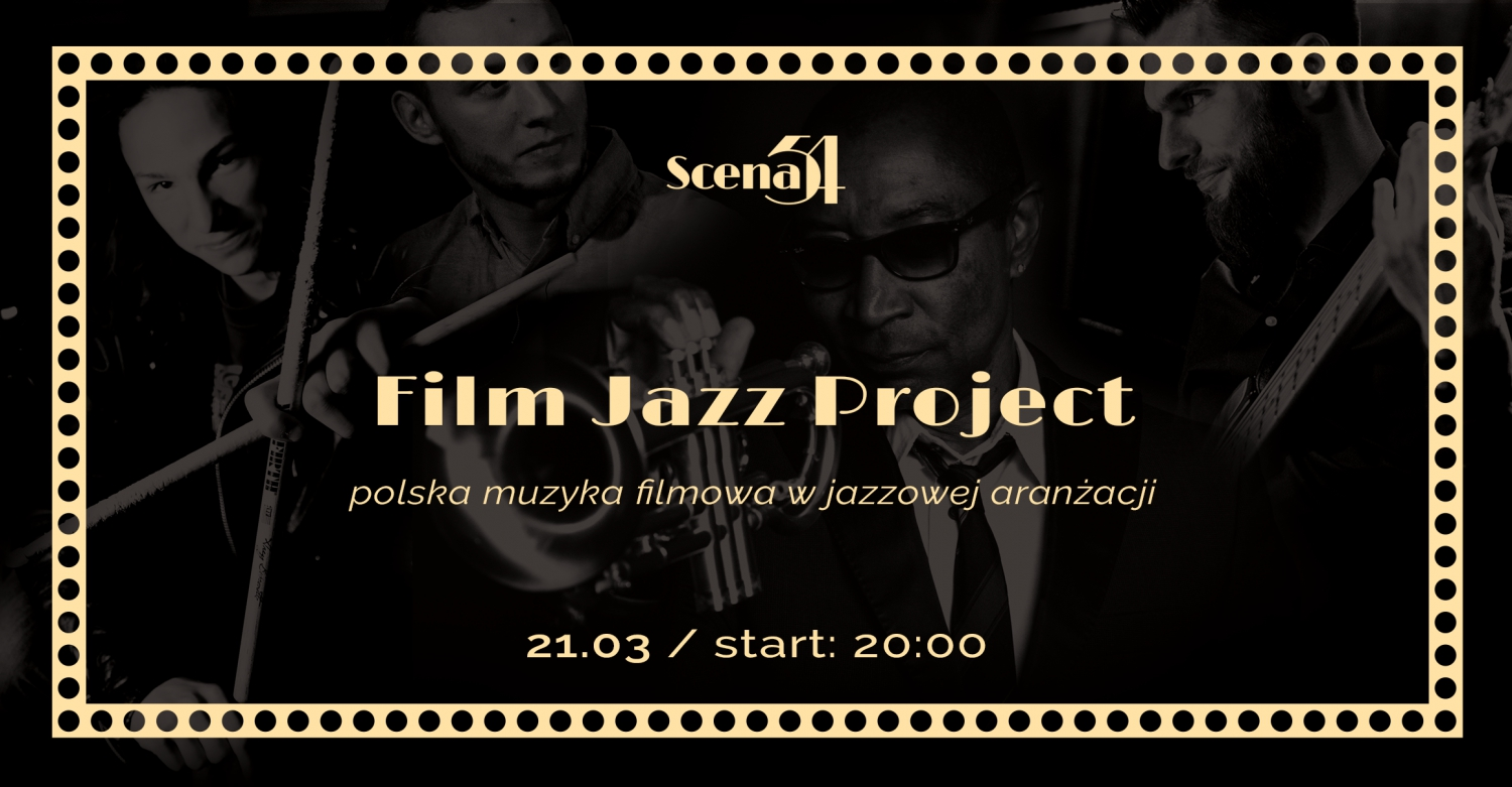 Film Jazz Project - polish film music in jazz arrangement