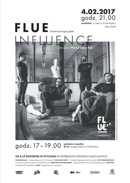 Flue - koncert promujący nowy album Influence