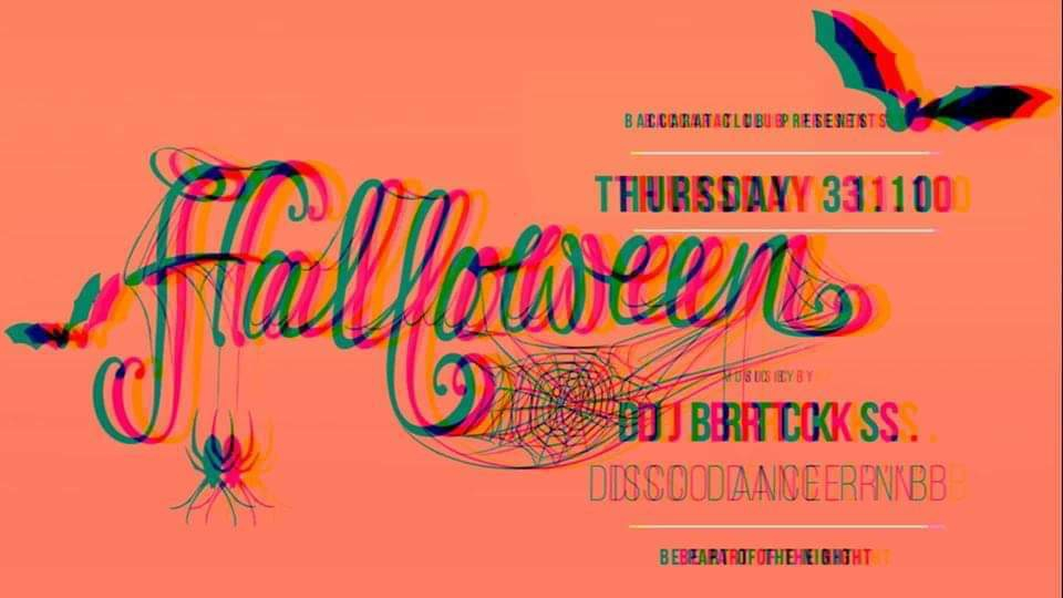 Halloween Party with DJ BRTCK S in Baccarat Club