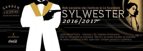 James Bond New Year`s Eve in Scandale