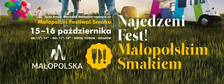 Najedzeni Fest! Małopolska Flavours culinary fair