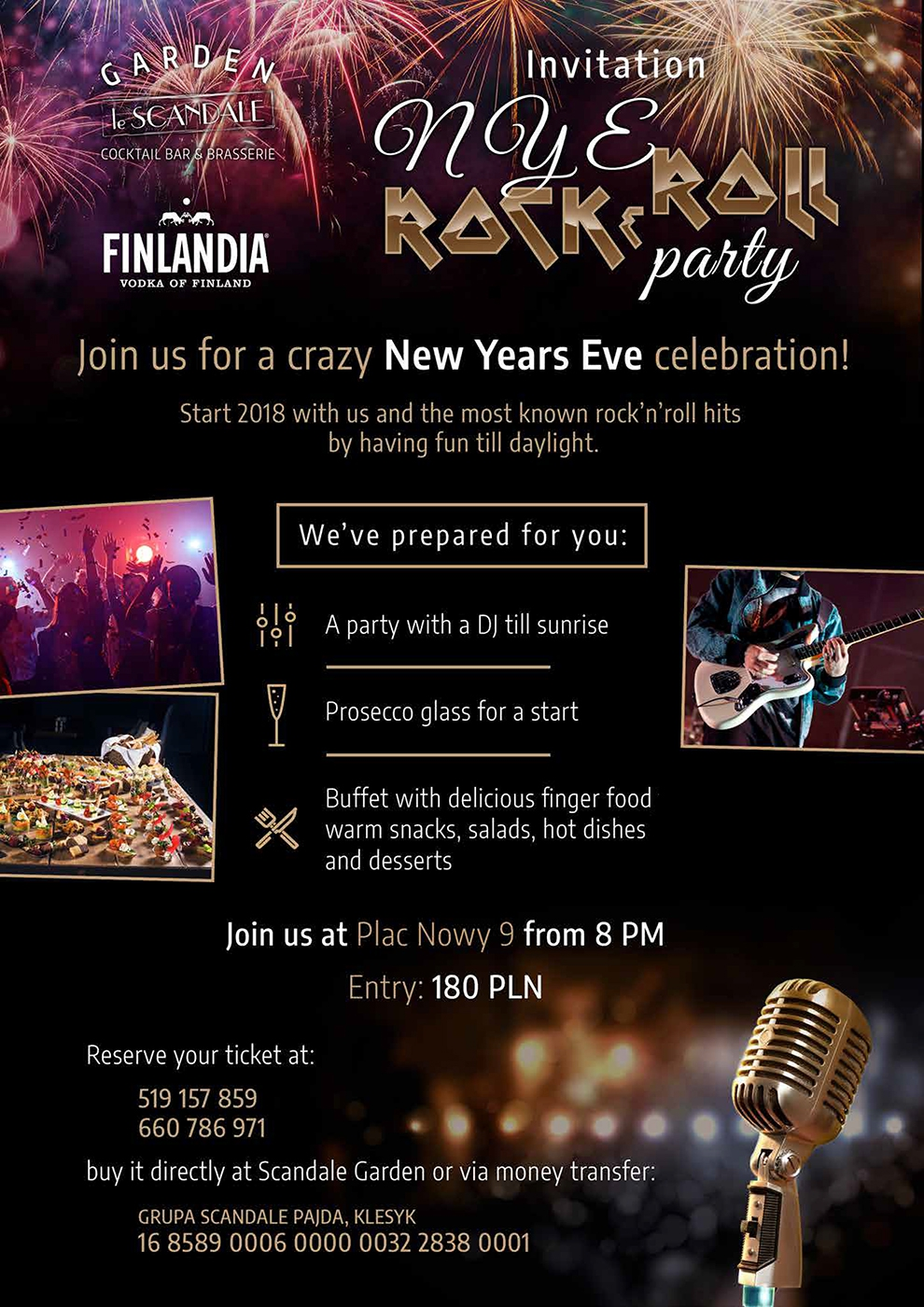 New Years Eve in Scandale