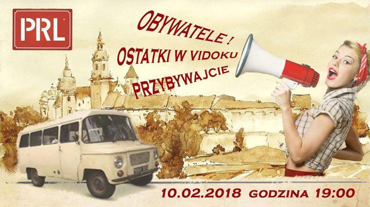 Ostatki w klimacie PRL w Restauracji Vidok.