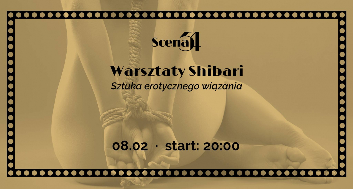 Shibari workshop in Scena54