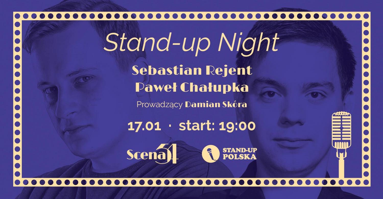 Stand-up Polska w Scenie54: Sebastian Rejent i Paweł Chałupka