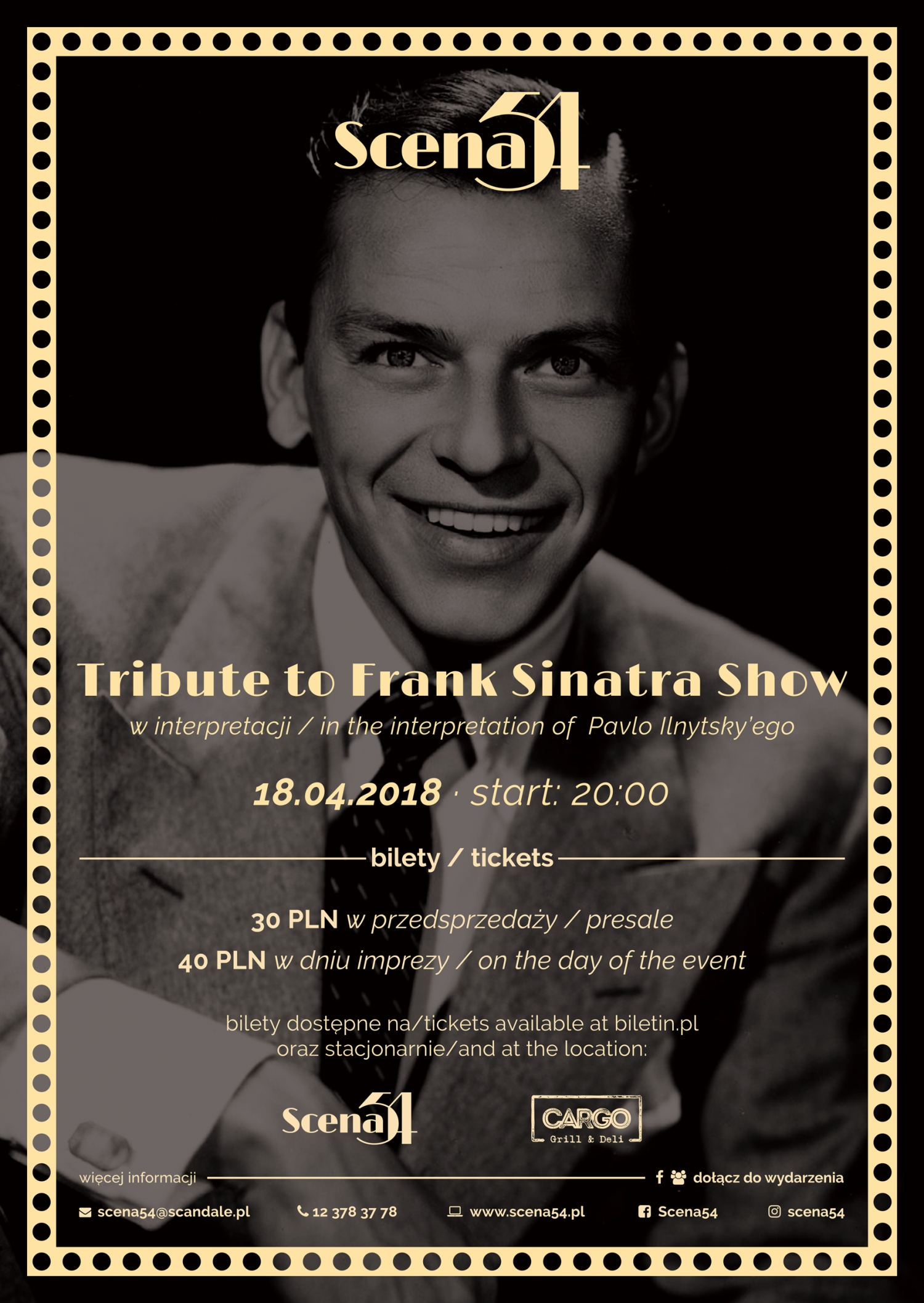 Tribute to Frank Sinatra Show