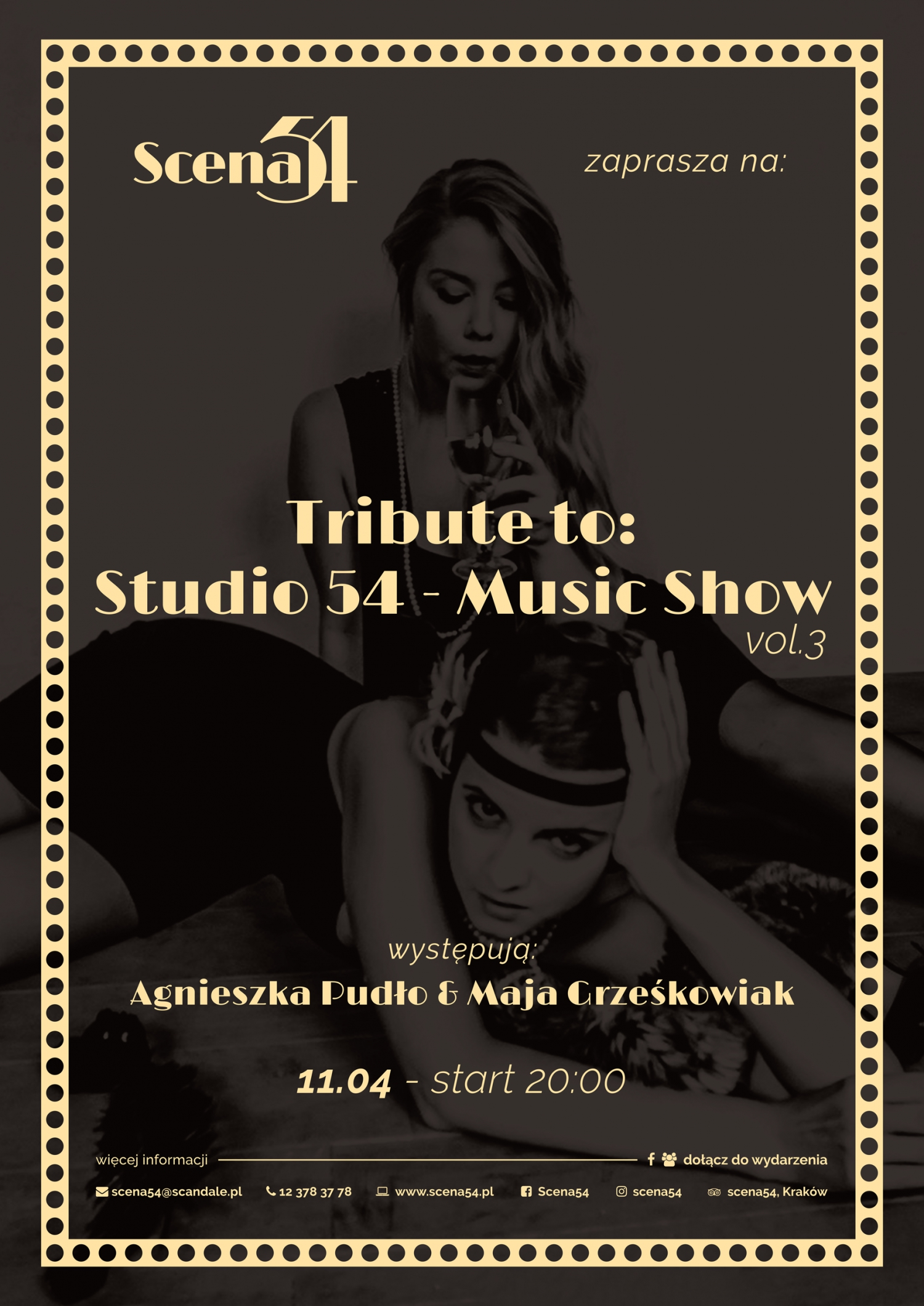 Tribute to Studio 54. The Music Show