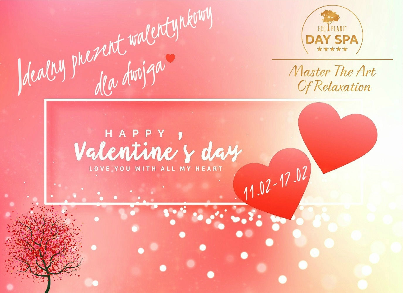 Valentine`s promotion in Eco Spa