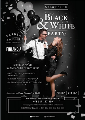 New Years Eve in Garden Le Scandale