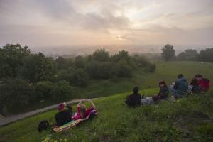 XVI Podgórskie Wschody Słońca na kopcu Kraka