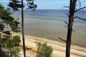 Baltic Sea Coastal Scenery and Cape Kolka From Riga