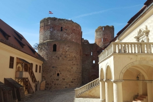 From Riga: Rundale Palace & Bauska Castle Tour to Vilnius